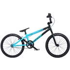 "Radio Cobalt Pro BMX Race Bike - 20.75"" TT, Black/Cyan"