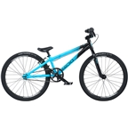 "Radio Cobalt Mini BMX Race Bike - 17.5"" TT, Black/Cyan"