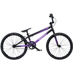"Radio Xenon Expert BMX Race Bike - 19.5"" TT, Black/Metallic Purple"