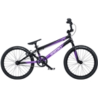 "Radio Xenon Expert XL BMX Race Bike - 20.25"" TT, Black/Metallic Purple"