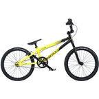 "Radio Cobalt Pro BMX Race Bike - 20.75"" TT, Black/Neon Yellow"
