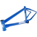 "Sunday Soundwave BMX Frame - 21.25"" TT, Candy Blue"