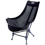 Eagles Nest Outfitters Lounger DL Camp Chair: Black/Charcoal