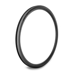 Origin8 Bolt Carbon Road 3K Low Profile Rim, 622x18x38, Black