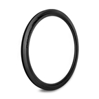 Origin8 Bolt Carbon Road 3K High Profile Rim, 622x18x50, 20H, Black