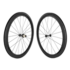 Origin8 Bolt Carbon Road Wheelset, 622 x 18, OR8 RD-1110 Elite Road, 20F/24R, Black