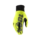 100% Hydromatic Waterproof Glove, Neon Yellow