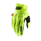 100% Cognito Fluo Glove, Yellow/Black