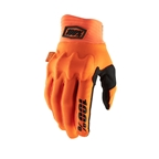 100% Cognito Fluo Glove, Orange/Black