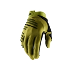 100% R-Core Gloves, Olive Green