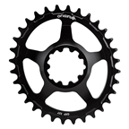 Holdfast Oval Direct 1x Chainring GXP, 32T, 10/11/12sp, Black