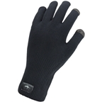 SealSkinz Waterproof All Weather Ultra Grip Gloves - Black, Full Finger