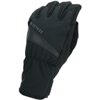 SealSkinz Waterproof All Weather Cycle Gloves - Black, Full Finger, Women's
