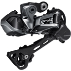 Shimano GRX RD-RX817 Rear Derailleur - 11-Speed, Long Cage, Black, With Clutch, Di2, For 1x