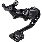 Shimano GRX RD-RX400 Rear Derailleur - 10-Speed, Long Cage, Black, With Clutch