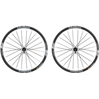 Vision Team 30 Wheelset - 700c, QR x 100/135mm, HG 11, Center-Lock, Black