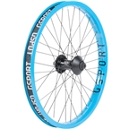 "G Sport Elite Front Wheel - 20"", 3/8"" x 100mm, Rim Brake, Cyan, Clincher"