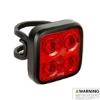 Knog Blinder Mob Four Eyes Rear Taillight, Black