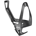 Elite SRL Rocko Carbon Water Bottle Cage: Matte Black/White