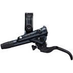 Shimano SLX BL-M7100/BR-M7120 Disc Brake and Lever - Front, Hydraulic, Post Mount, 4-Piston, Black