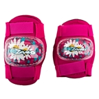 Kidzamo Elbow/Knee Pad Set, Pink Daisy