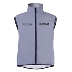 Proviz Reflect360 Cycling Gilet Vest, Reflective Gray
