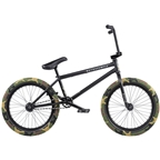 "We The People Justice BMX Bike - 20.75"" TT, Matte Black"