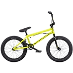 "We The People CRS BMX Bike - 18"" TT, Metallic Yellow, Cassette"