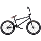 "We The People Crysis BMX Bike - 20.5"" TT, Matte Black"