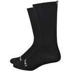 DeFeet Evo Disruptor Socks - 6 inch, Black