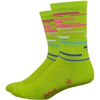 DeFeet Wooleator Comp DNA Socks - 6 inch, Limelight