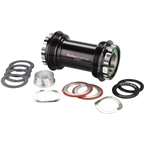 Enduro T47 Bottom Bracket: XD-15 Pro Ceramic Bearings 24mm, Black