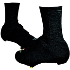 "Defeet Slipstream Strada Shoe Cover: 5"" Charcoal Wool"