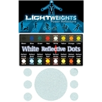 LightWeights Reflective Dots 7pc, White