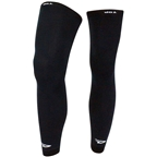DeFeet Wool Kneeker Full Length Leg Covers - Black