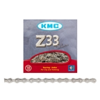 KMC Z33NP 5/6sp Chain. 116L, Nickel Plated