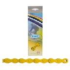 KMC Z410 1sp Chain, 112L, Yellow