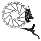Clarks Clout-1 Hydraulic Disc Brake, Pair, 160mm, IS Mount