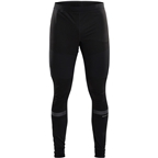 Craft Warm Train Wind Tights - Black, Men's