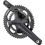 FSA (Full Speed Ahead) Omega Adventure Crankset - 170mm, 10/11-Speed, 46/30t, 120/90 BCD, FSA MegaExo 19 Spindle Interface, Black