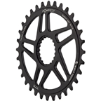 Wolf Tooth Elliptical Direct Mount Chainring - 32t, Shimano Direct Mount, Boost, 3mm Offset, Requires 12-Speed Hyperglide+ Chain, Black