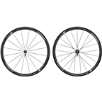 Vision Team 35 Wheelset - 700c, QR x 100/130mm, HG 11, Black, Clincher
