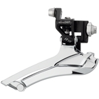 microSHIFT R10 Front Derailleur 10-Speed Double, 56T Max, Braze-On, Shimano Compatible, Black