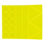 Sayre Reflective Stickers, Yellow