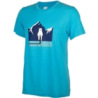 Salsa Polar Bear T-Shirt - Blue, Men's