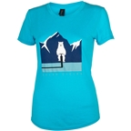 Salsa Polar Bear T-Shirt - Blue, Women's