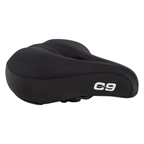 Cloud-9 Cruiser Select Airflow ES Lycra Saddle, 11.25x9, Black