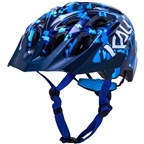 Kali Protectives Chakra Youth Helmet - Pixel Blue, Youth, One Size