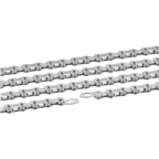 Connex 10S1 1/2x3/32 114L 10-Speed SS Hollow Pin Chain - Silver