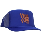 FBM Wavy Mesh Hat - Blue, One Size Fits Most